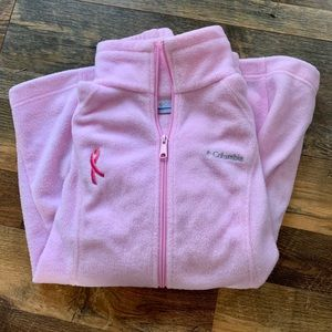 Columbia Breast Cancer Jacket